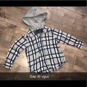Gap hooded fleece